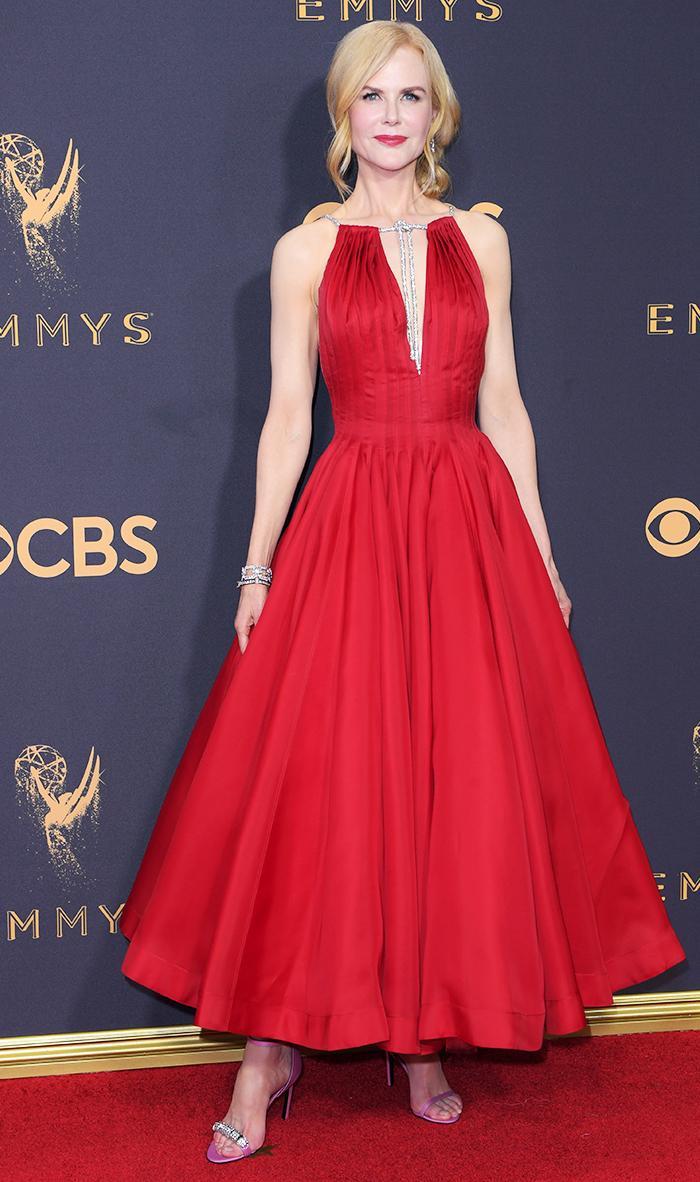 Emmys red carpet Nicole Kidman 2017