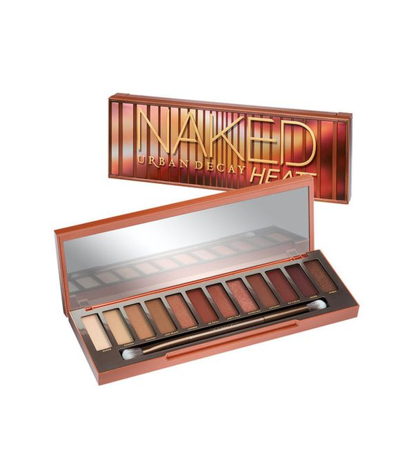 Urban Decay Naked Heat Eyeshadow Palette - shimmery eye makeup