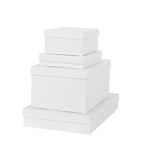 White Rectangle Gift Box