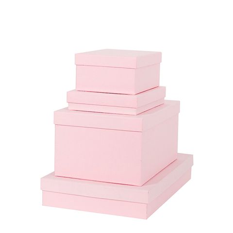 Blush Square Gift Box