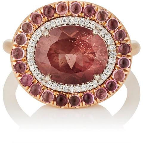 Mixed-Gemstone Ring