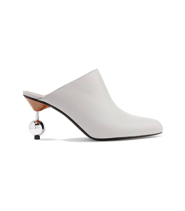 Trick Stretch Heels In Leather Shoes