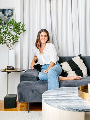 This Simple Styling Trick Made My NYC Apartment Feel 10 Times Bigger
