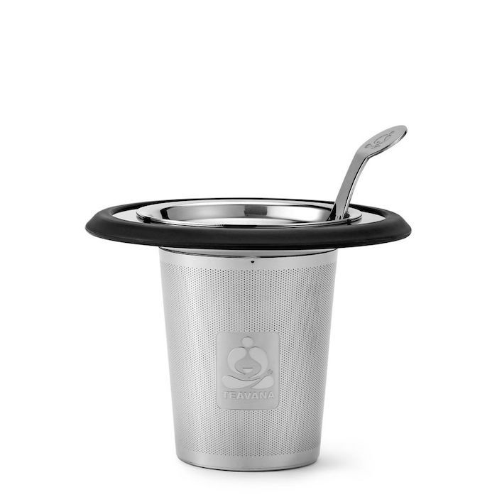 Black Cool Touch Tea Strainer by Teavana