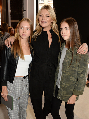 Kate Moss's Daughter Sat Front Row With Another Next-Gen It Girl