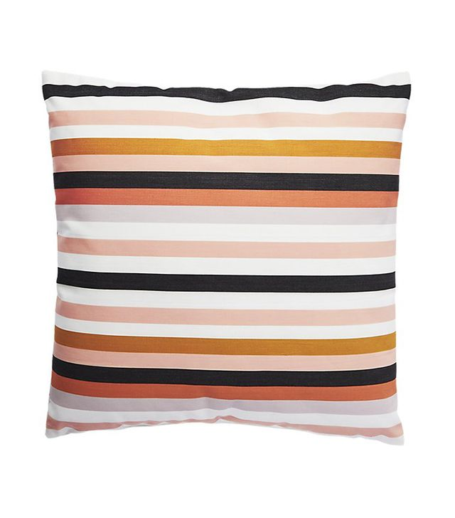 "20"" la mer rose outdoor pillow"