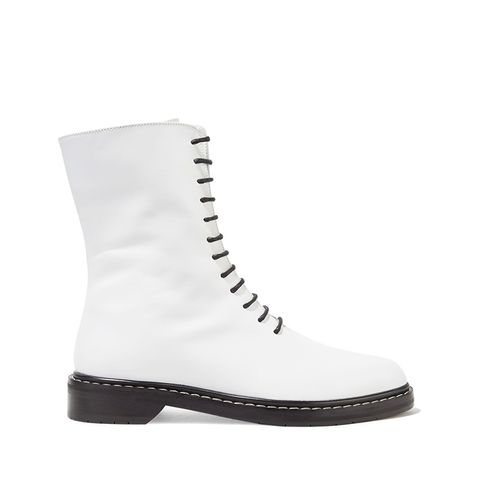 Fara Leather Ankle Boots