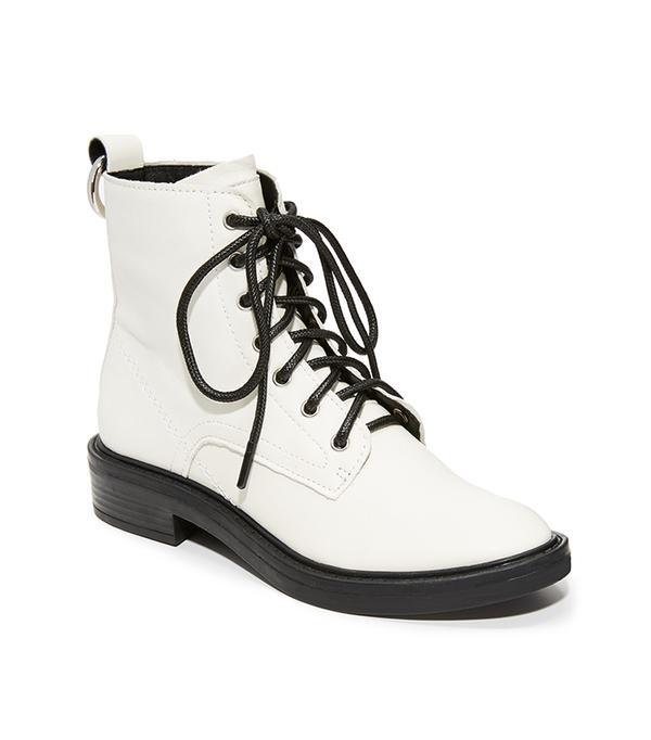 Bardot Combat Boots