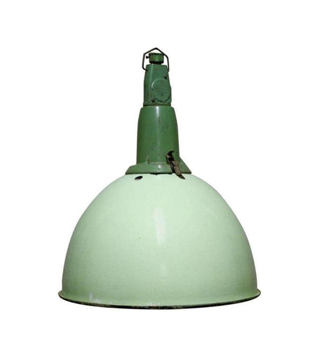 Vintiques Green Industrial Factory Lamp