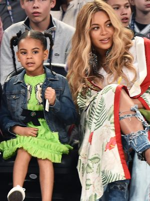 Blue Ivy Playing Dress Up in Beyoncé's Louboutin Heels Is Beyond Cute