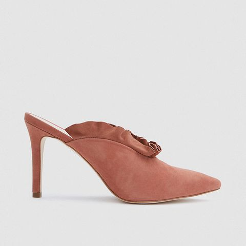 Langley Heels in Dusty Rose
