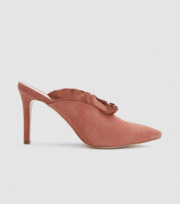 Langley Heel in Dusty Rose