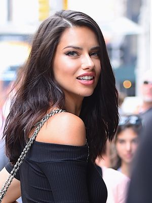Adriana Lima Reveals the Makeup Products She Uses to Get Ready for a Night Out