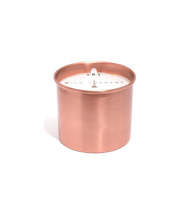 Large Tin Candle