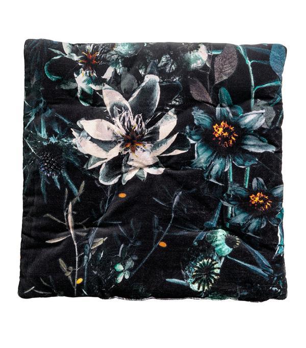 Cotton Velvet Seat Cushion