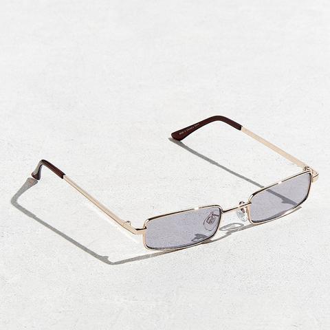 Metal Rectangle Sunglasses