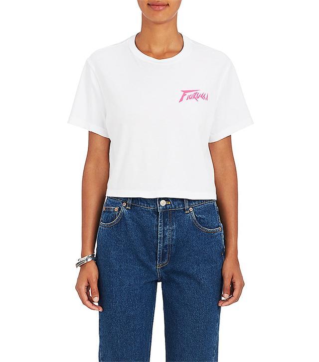 Women's High Voltage Cotton Crop T-Shirt