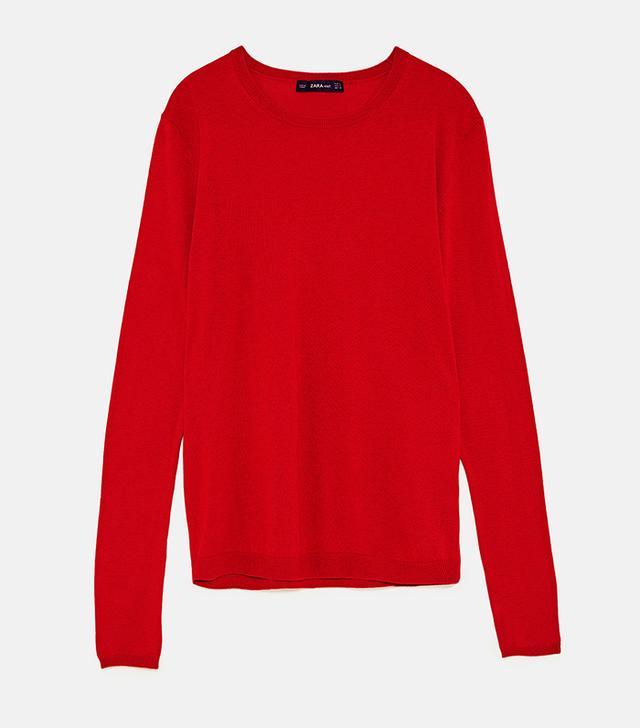 Zara Soft-Feel Sweater