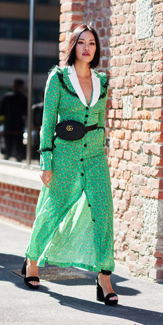 Street Style At Milan Fashion Week Whowhatwear Uk