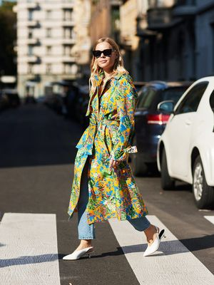 Proof Milan's Street Style Is the Best Place to Find Print Outfit Inspo