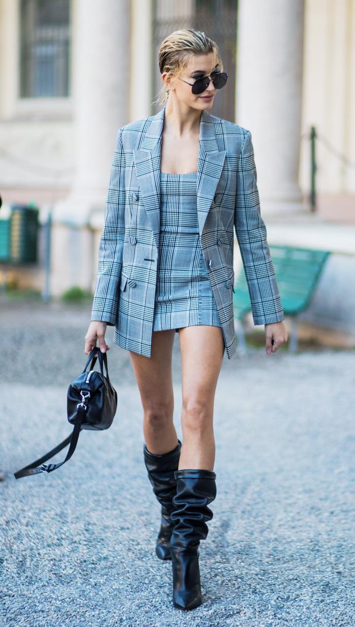 Milan Fashion Week 2017 September front row: Hailey Baldwin
