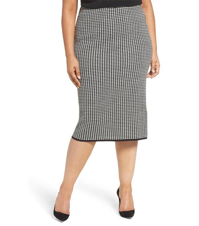 Plus Size Women's Persona By Marina Rinaldi Georgia Knit Pencil Skirt