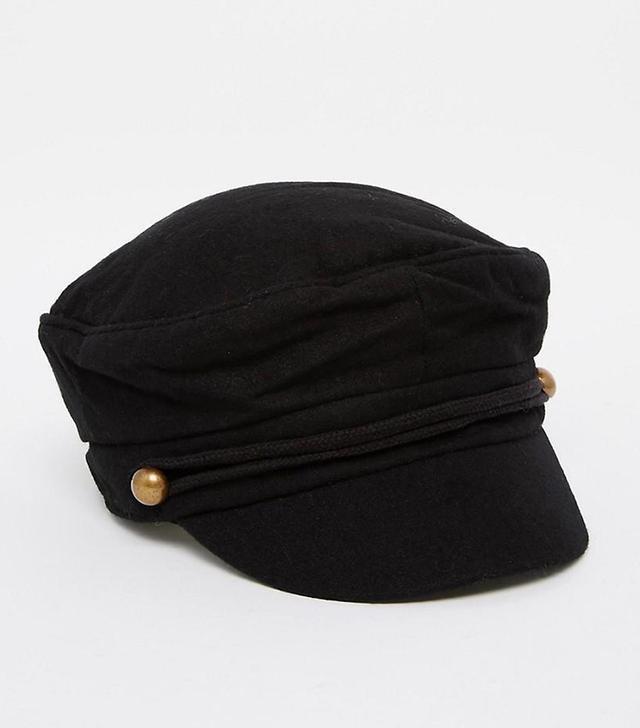 ASOS Wool Mix Baker Boy Cap