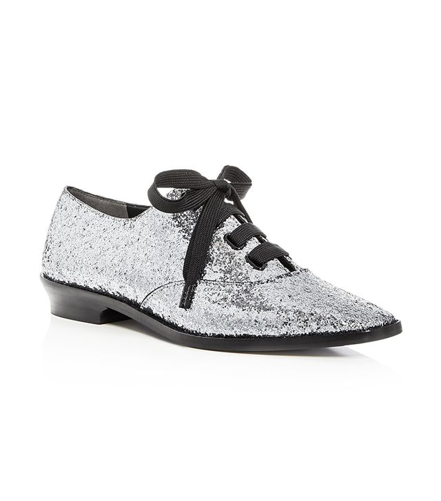 Women's Brittany Glitter Lace Up Oxfords