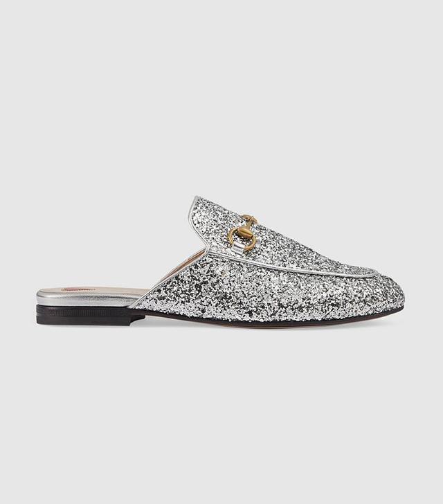Princetown glitter slipper