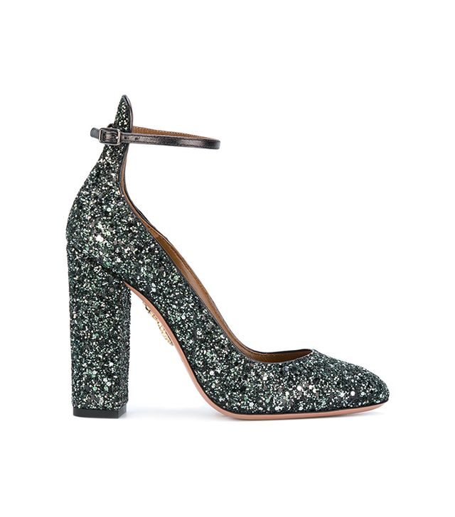 Alix glitter pumps