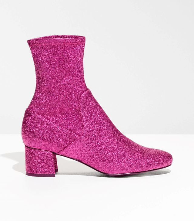 Pull On Sparkle Boots