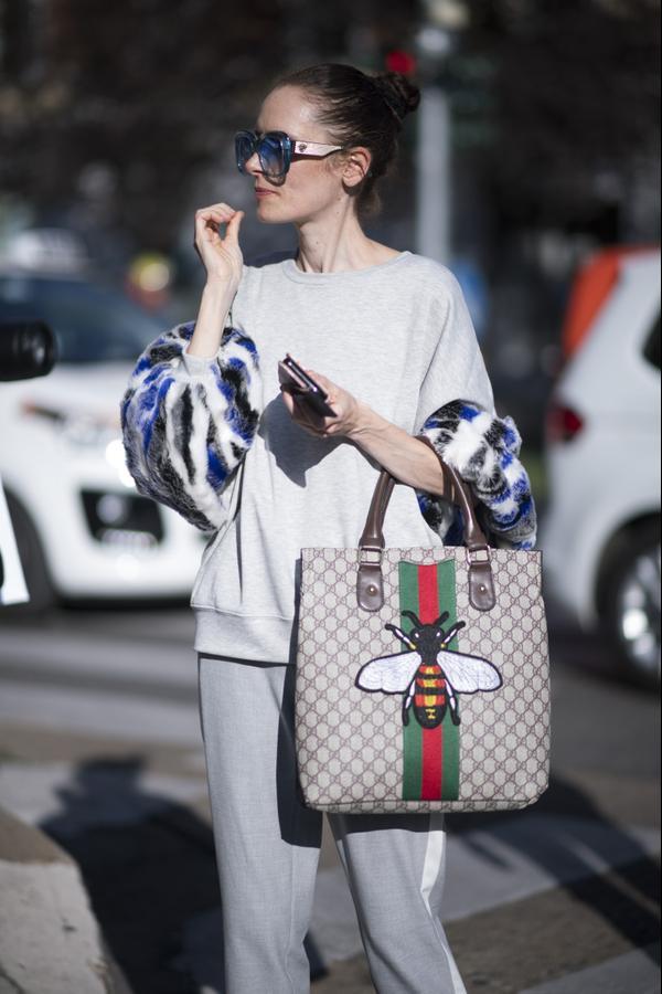 Milan Fashion Week Spring Summer 2018 Street Style