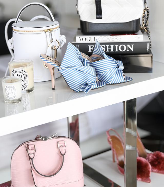 chic wardrobe display