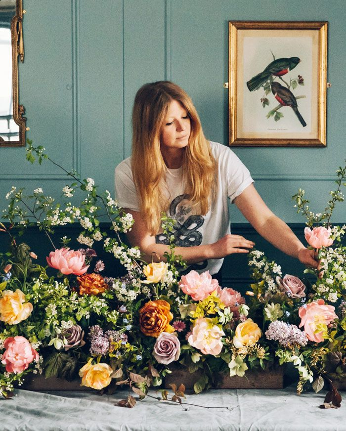 Cool florists: Swallos and Damsons