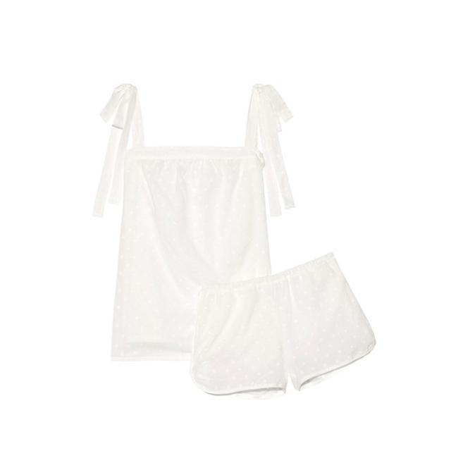Sadie Fil Coupé Cotton Pajama Set