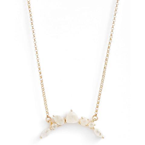 Moonstone Pendant Necklace