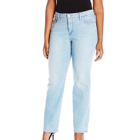 414 Relaxed Straight Leg Jeans