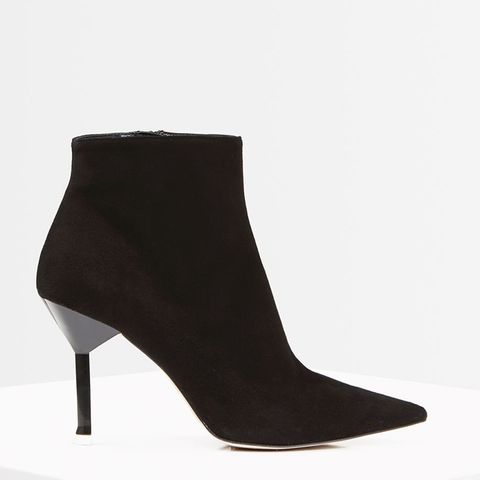Premium Suede Ankle Boots