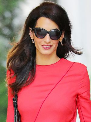 Amal Clooney Is Already Wearing This Major Fall Trend From Head to Toe