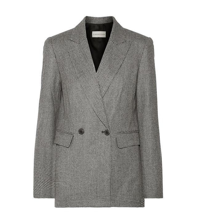Galen Houndstooth Wool-blend Blazer
