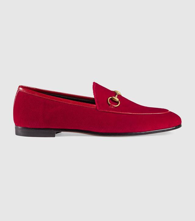 Jordaan velvet loafer