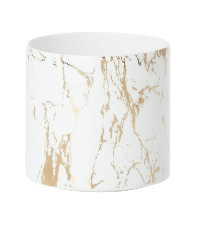 CB2 Marbleized Planter