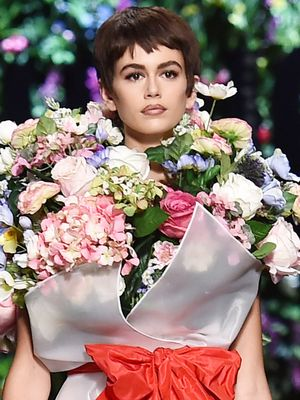 Kaia Gerber and Gigi Hadid Just Wore the Wildest Matching Runway Looks