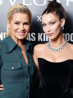 Bella Hadid and Her Mom Wore Totally Opposite Outfits on Bulgari's Red Carpet