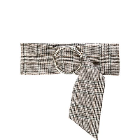Wide Tweed Belt
