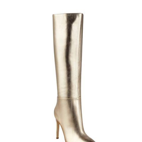 Lilly Metallic Tall Boots