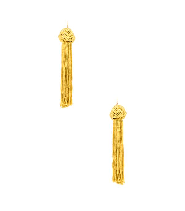 ASTRID KNOTTED TASSEL EARRINGS