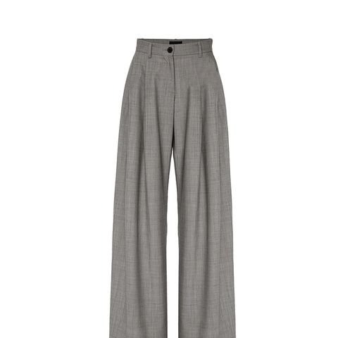 Inez Pleated Wool Pant
