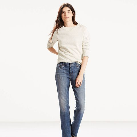 Classic Stretch Straight Jeans