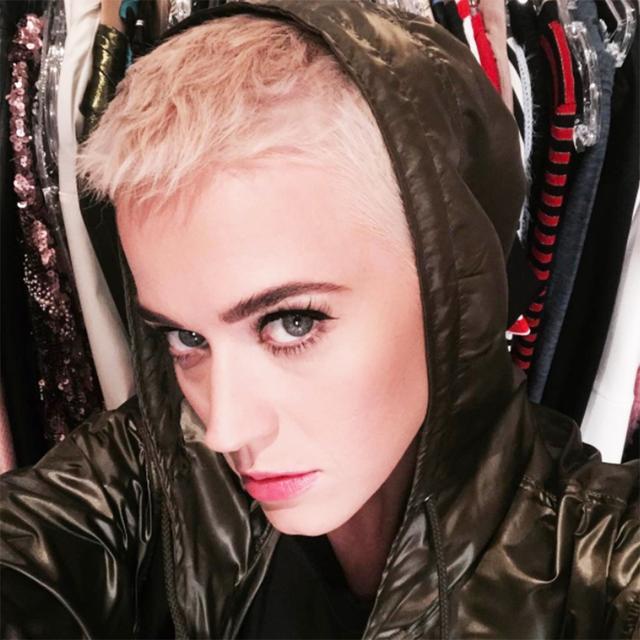 Katy Perry Pixie Cut - Katy Perry Buzz Cut